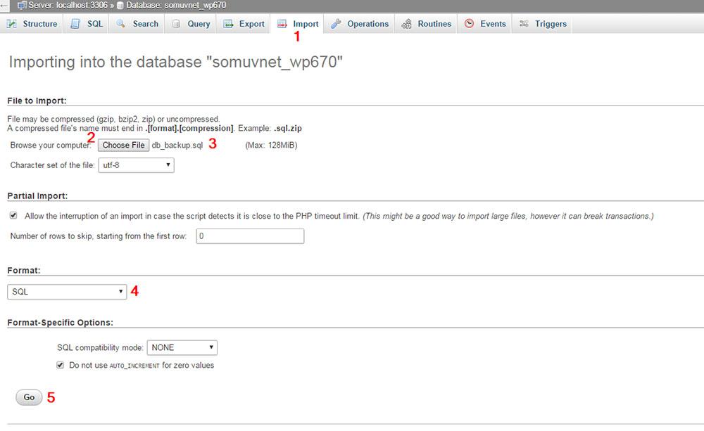 怎么用phpMyAdmin从备份中恢复MySQL数据库?
