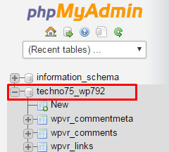 使用phpMyAdmin如何复制数据库?