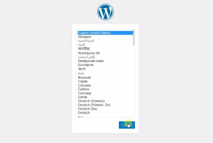 WordPress的详细安装教程