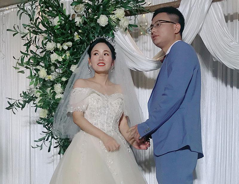 (叶苹、梁萧)新婚大喜
